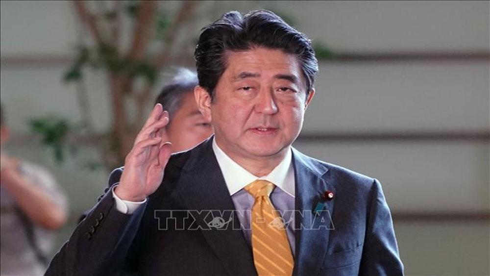 Thủ tướng Shinzo Abe được bầu lại làm Chủ tịch LDP